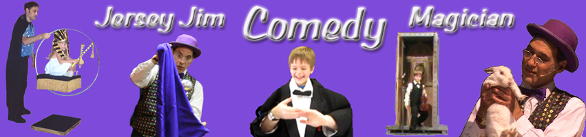 Jersey Jim Comedy Magician Logo | Funniest Comedy Magician in California