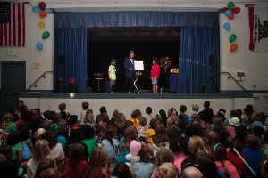 Jersey Jim School Fundraising Event Magic Show