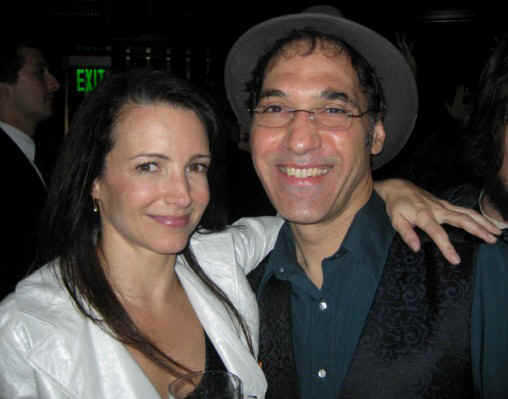 Jersey Jim and lovely Kristin Davis