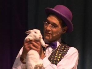 Jersey Jim and Rocky the Rabbit
