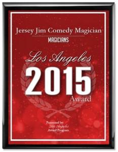 los angeles award magician