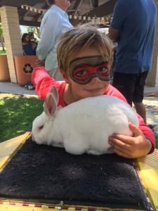 Rocky the Rabbit Jersey Jim's magic show