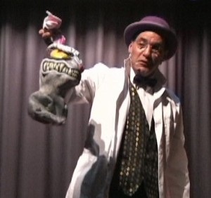 Jersey Jim's Halloween magic show rabbit