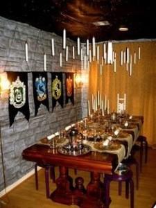 Homemade Harry Potter Birthday Party