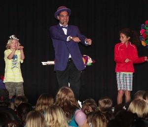 Jersey Jim School fundrasing Magic Show